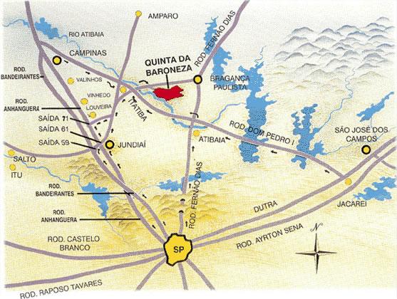 Quinta da Baroneza - Localização
